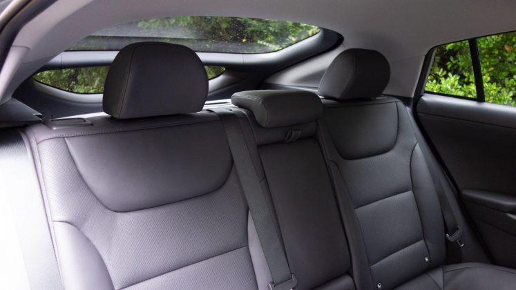 Hyundai Ioniq Electric rear seats