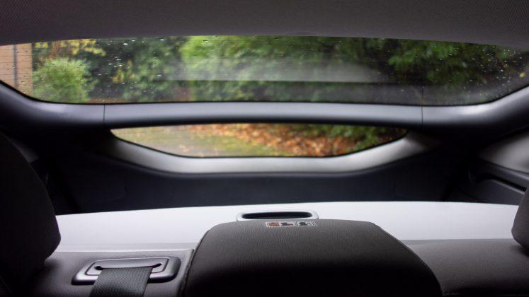 Hyundai Ioniq Electric rearview