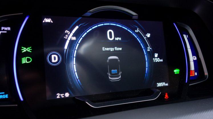 Hyundai Ioniq Electric regenerative braking