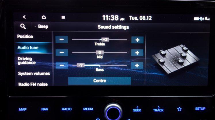 Hyundai Ioniq Electric sound EQ