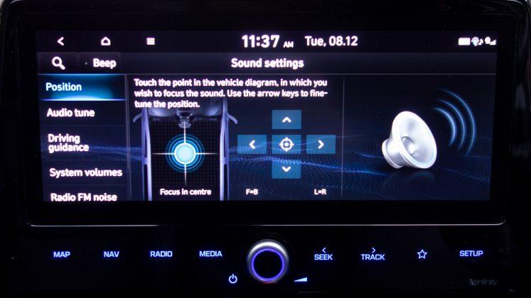 Hyundai Ioniq Electric sound balance