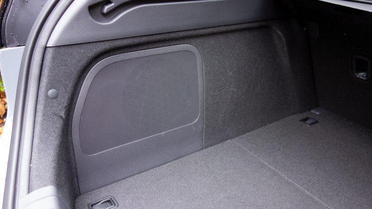 Hyundai Ioniq Electric subwoofer