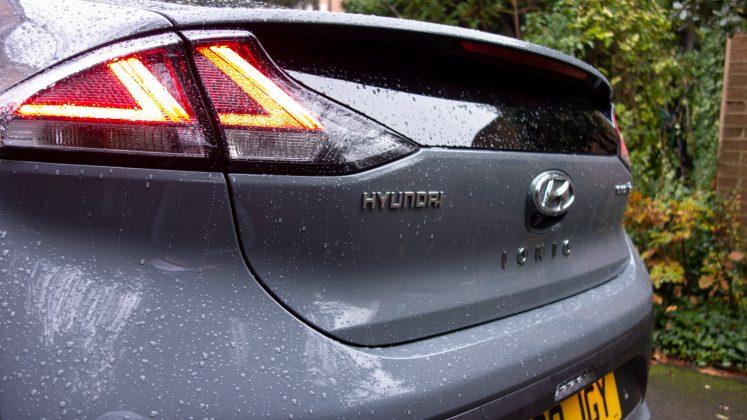 Hyundai Ioniq Electric taillight