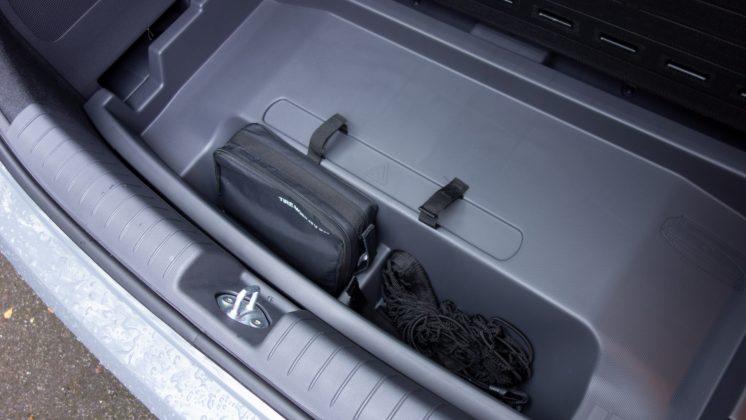 Hyundai Ioniq Electric under boot capacity