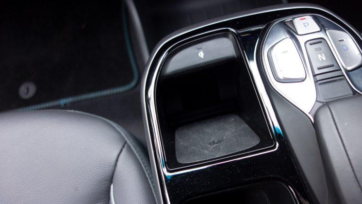 Hyundai Ioniq Electric wireless charger