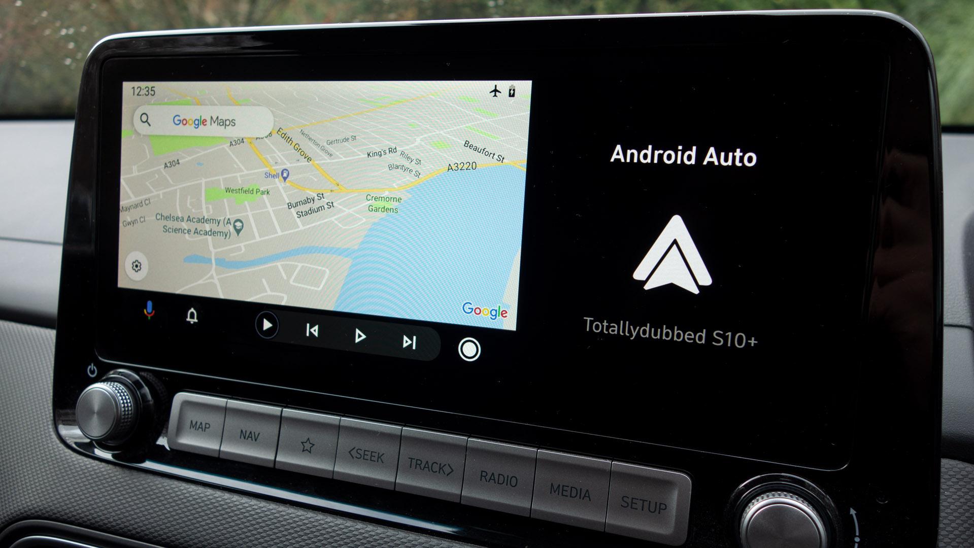 Hyundai Kona Electric Android Auto