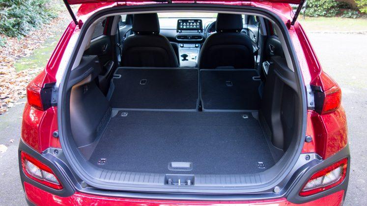Hyundai Kona Electric boot capacity