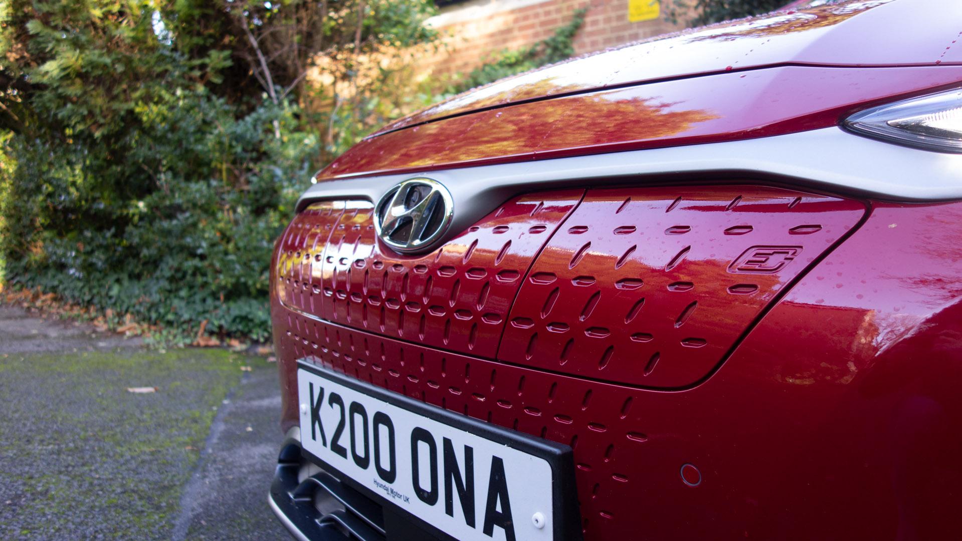 Hyundai Kona Electric bumper