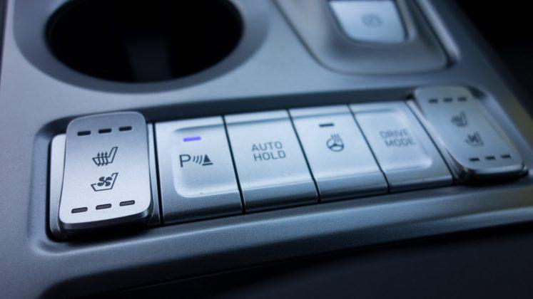 Hyundai Kona Electric button
