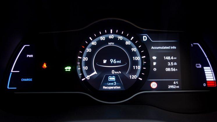 Hyundai Kona Electric comfort mode