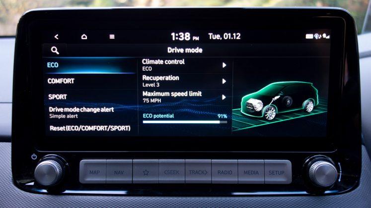 Hyundai Kona Electric eco mode
