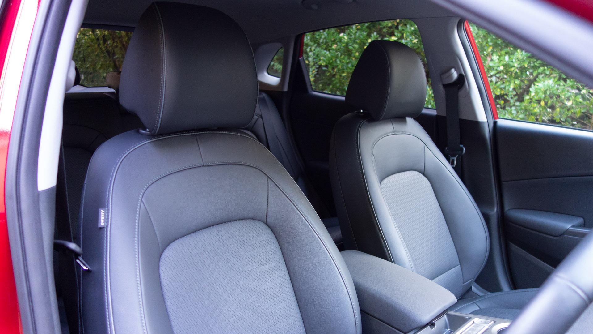 Hyundai Kona Electric front seats