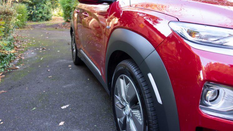 Hyundai Kona Electric plastic trim