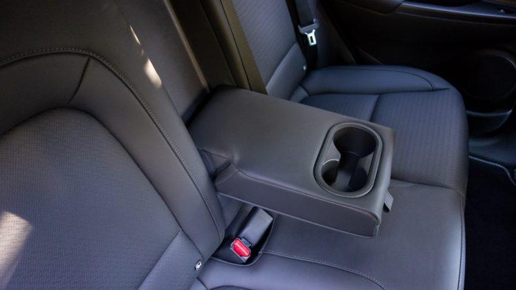 Hyundai Kona Electric rear armrest