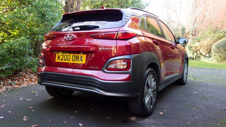 Hyundai Kona Electric rear design