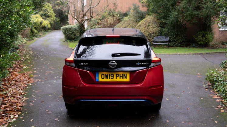 Nissan Leaf back