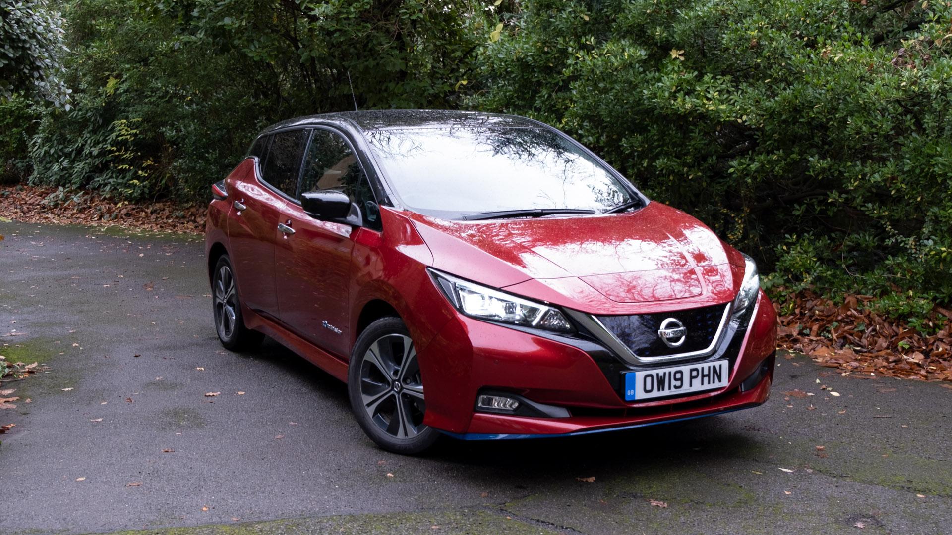 Nissan Leaf design