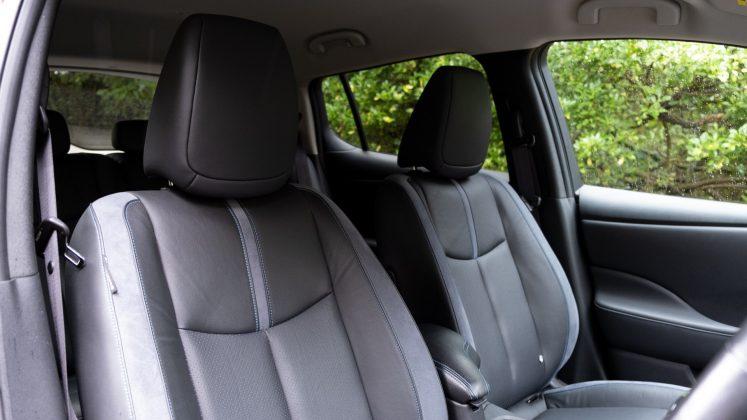 Nissan Leaf front seats