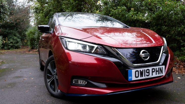 Nissan Leaf headlights