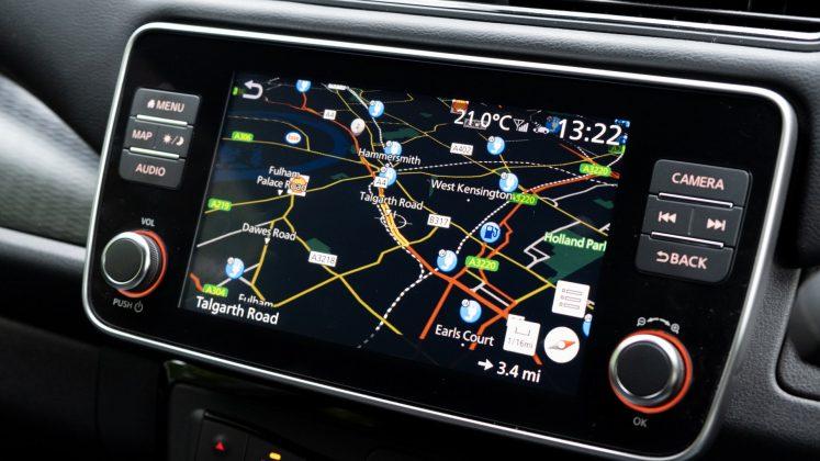 Nissan Leaf maps