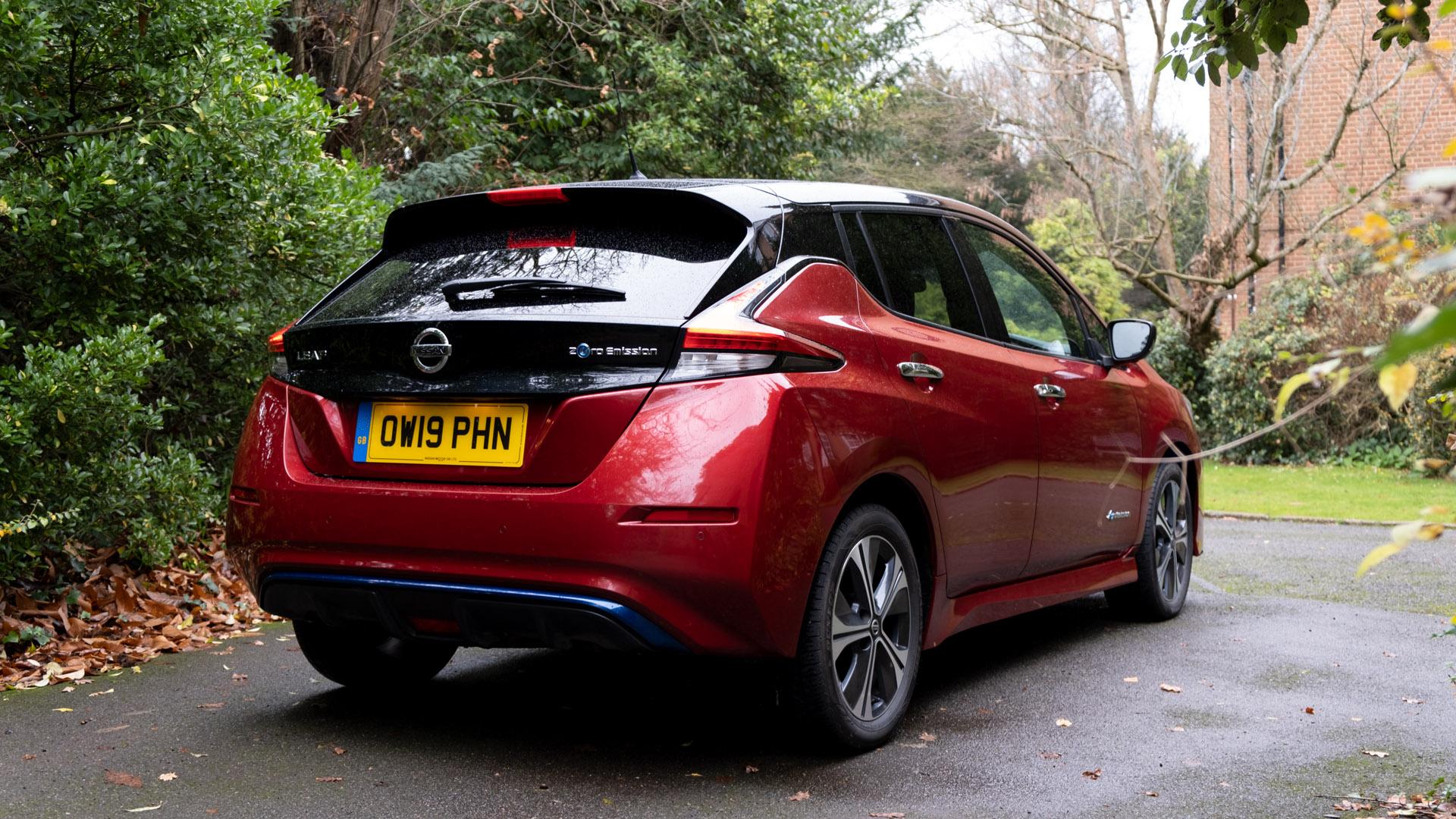 Nissan Leaf rear design