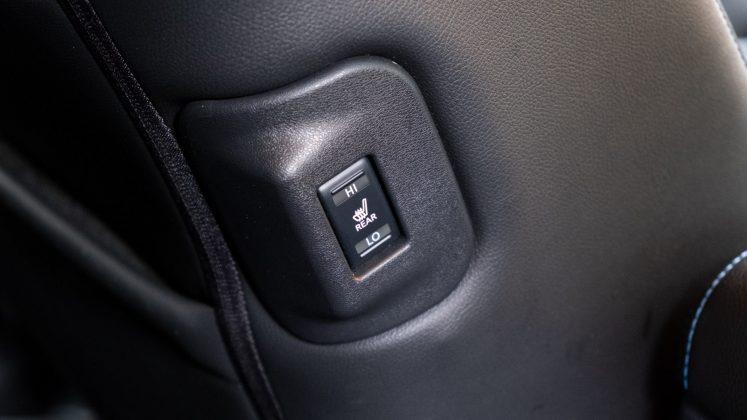 Nissan Leaf rear warmer