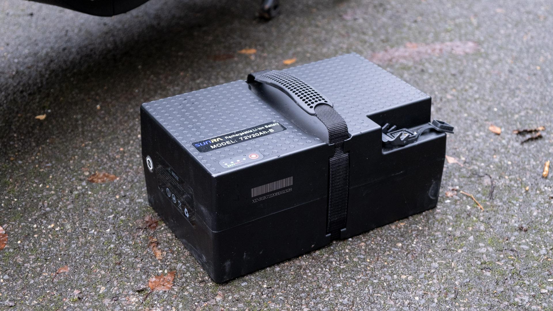 Sunra Robo-S battery
