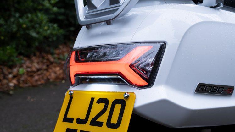 Sunra Robo-S taillight