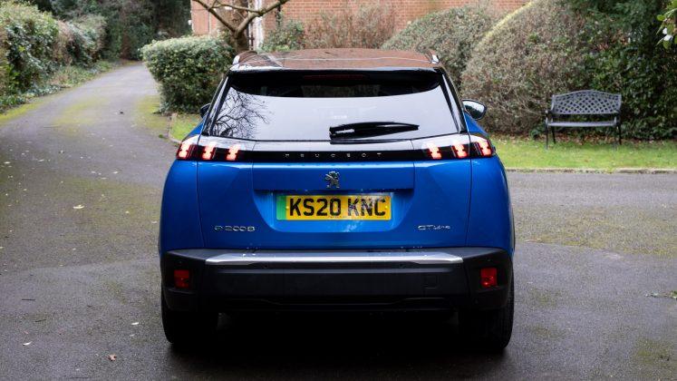 Peugeot e-2008 rear