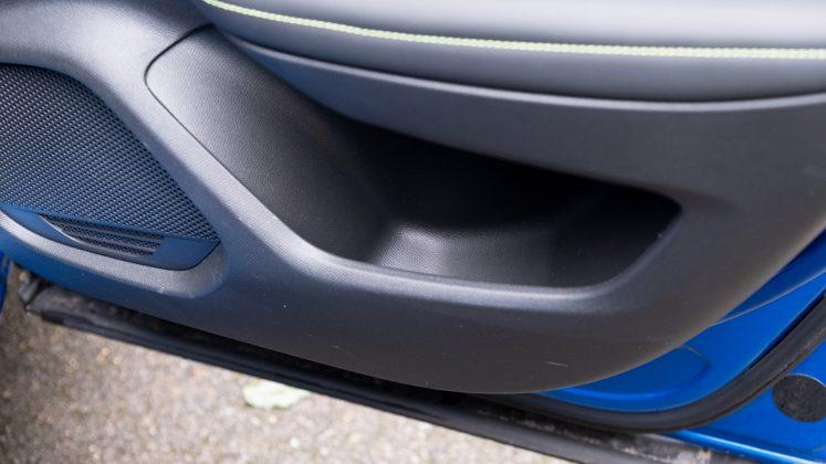 Peugeot e-2008 rear door storage
