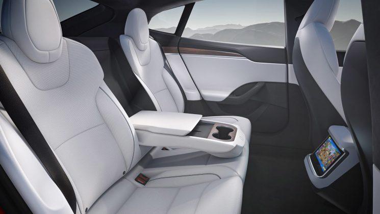Tesla Model S seats