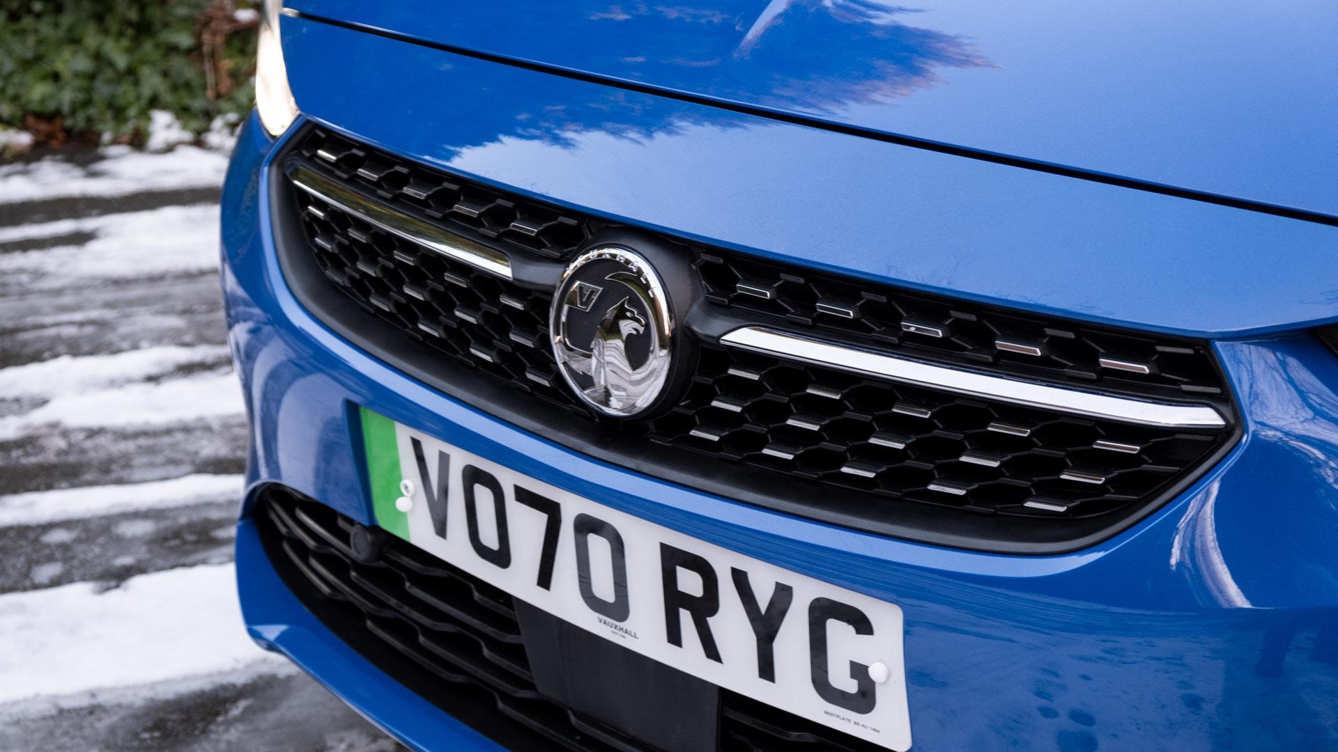 Vauxhall Corsa-e badge