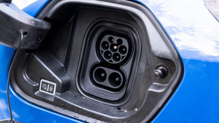 Vauxhall Corsa-e charger