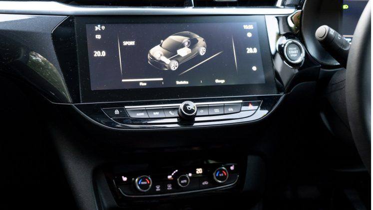 Vauxhall Corsa-e dashboard