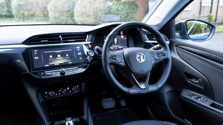 Vauxhall Corsa-e front cabin