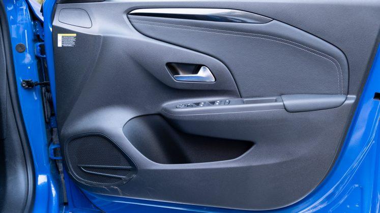 Vauxhall Corsa-e front door
