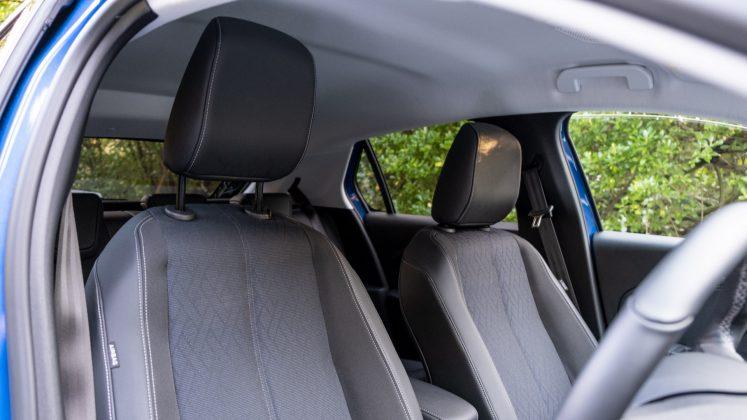 Vauxhall Corsa-e front seats