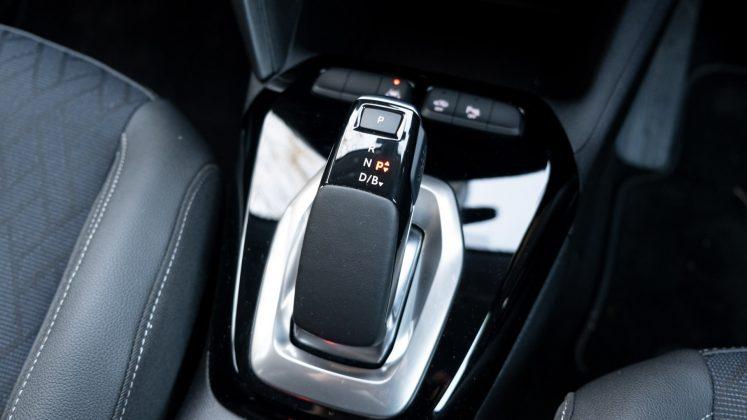 Vauxhall Corsa-e gear selector