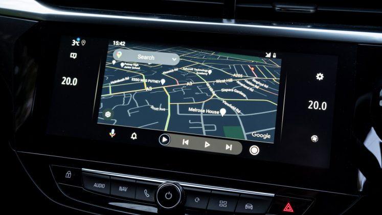 Vauxhall Corsa-e maps