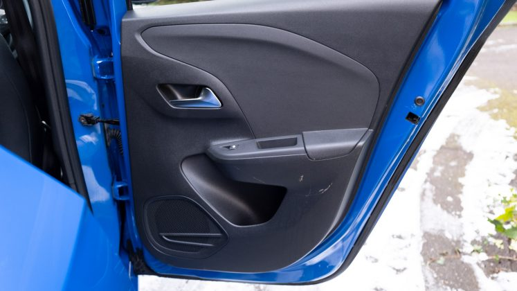 Vauxhall Corsa-e rear door