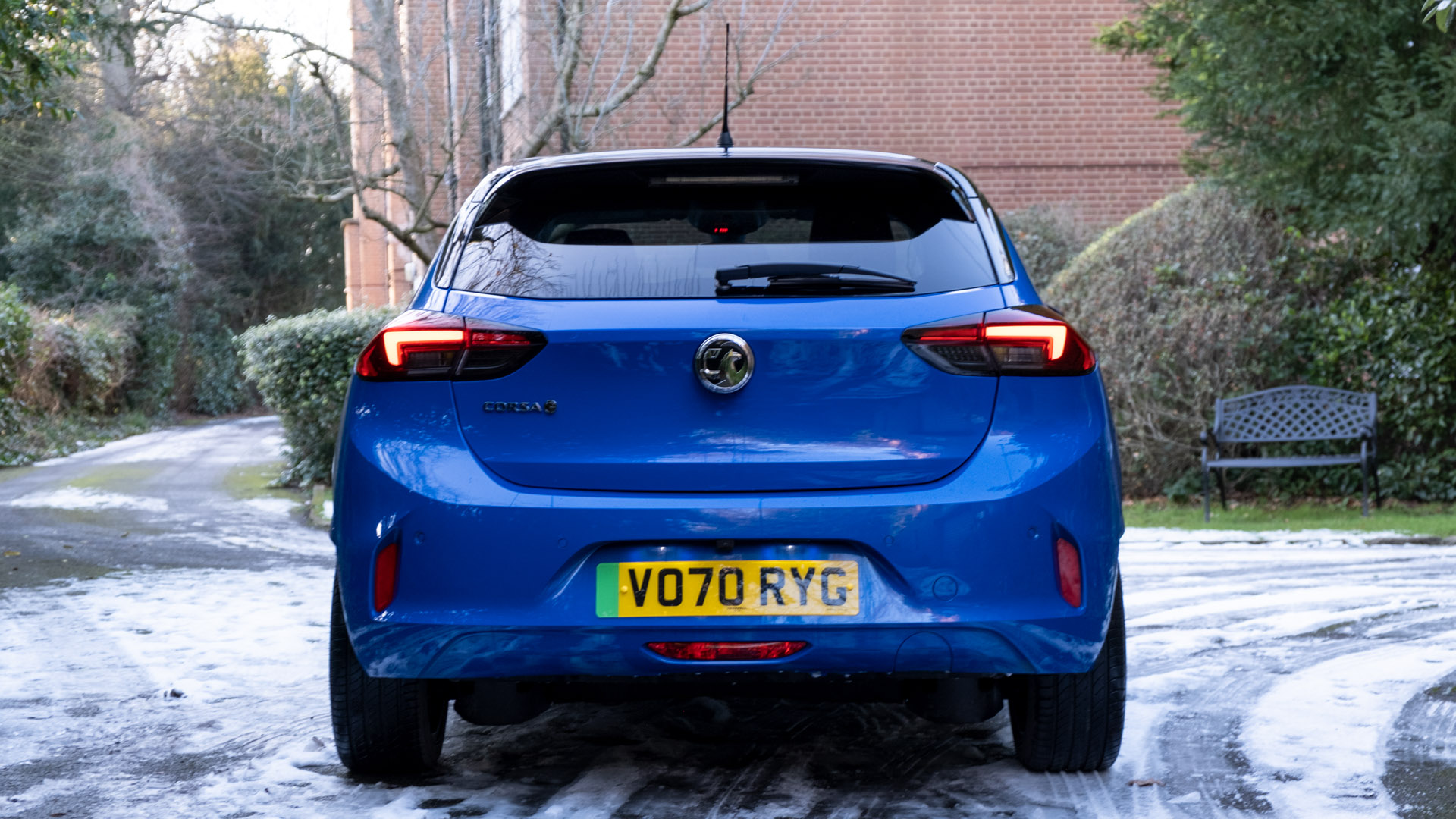 Vauxhall Corsa-e rear look