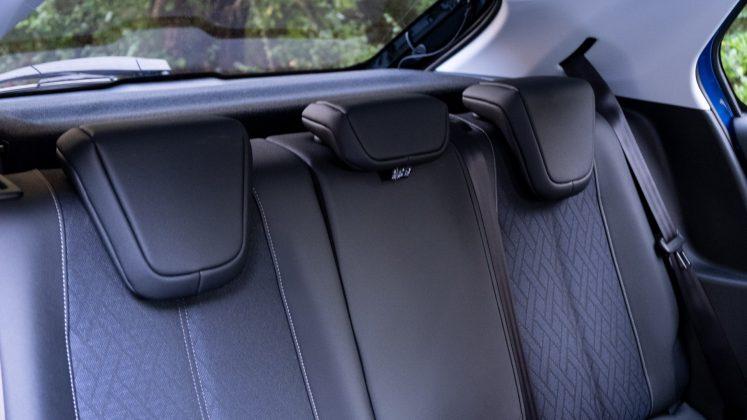 Vauxhall Corsa-e rear seats