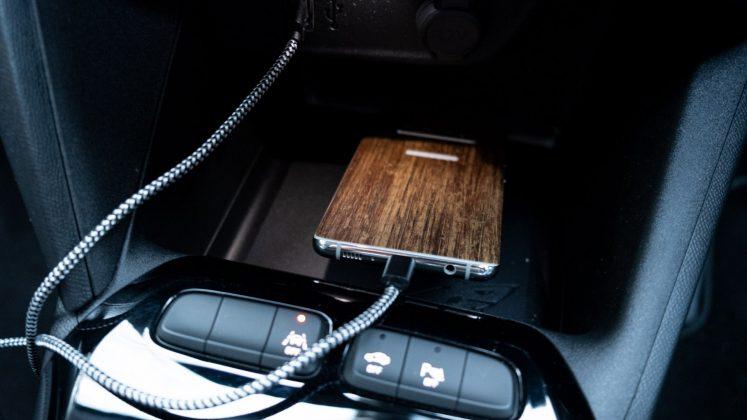 Vauxhall Corsa-e smartphone