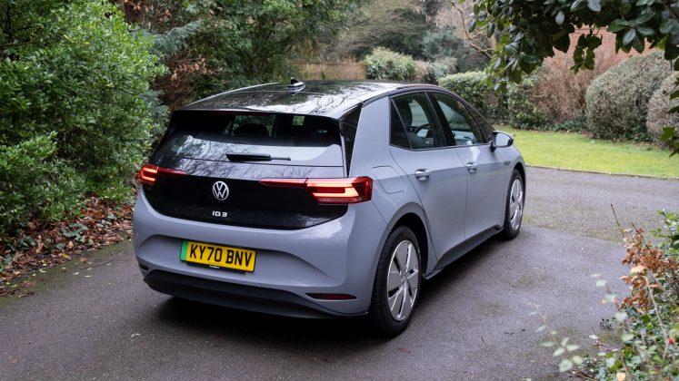 Volkswagen ID.3 back