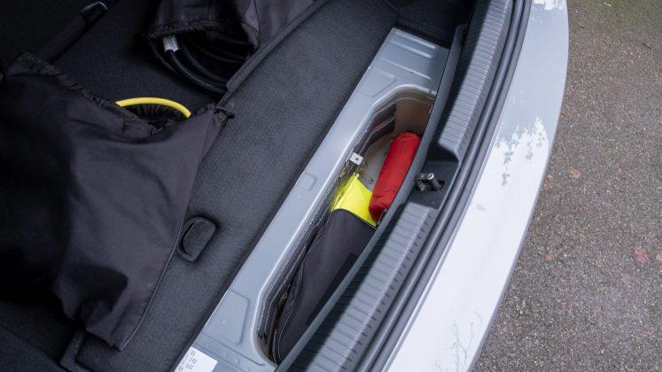 Volkswagen ID.3 boot compartment