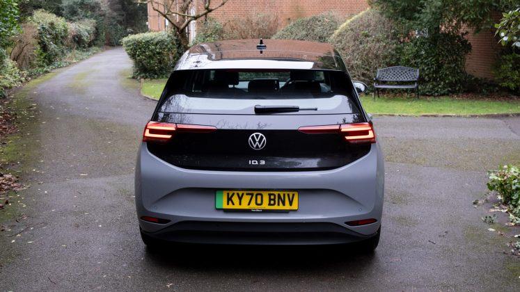 Volkswagen ID.3 boot design