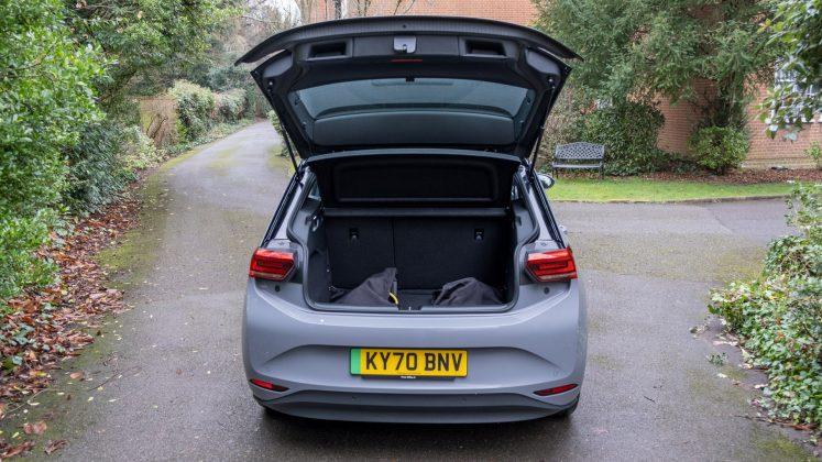 Volkswagen ID.3 boot space