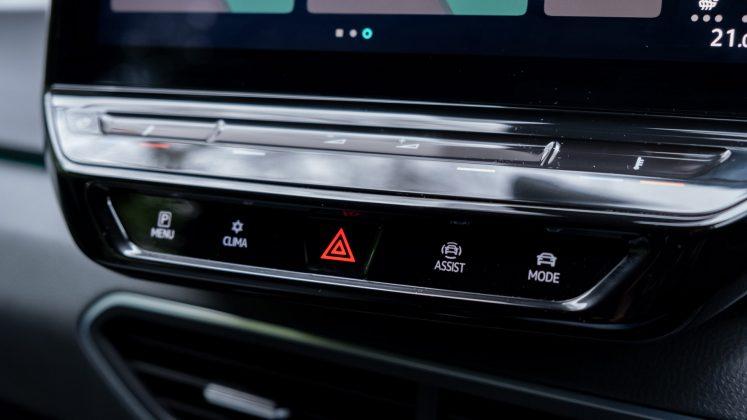 Volkswagen ID.3 controls
