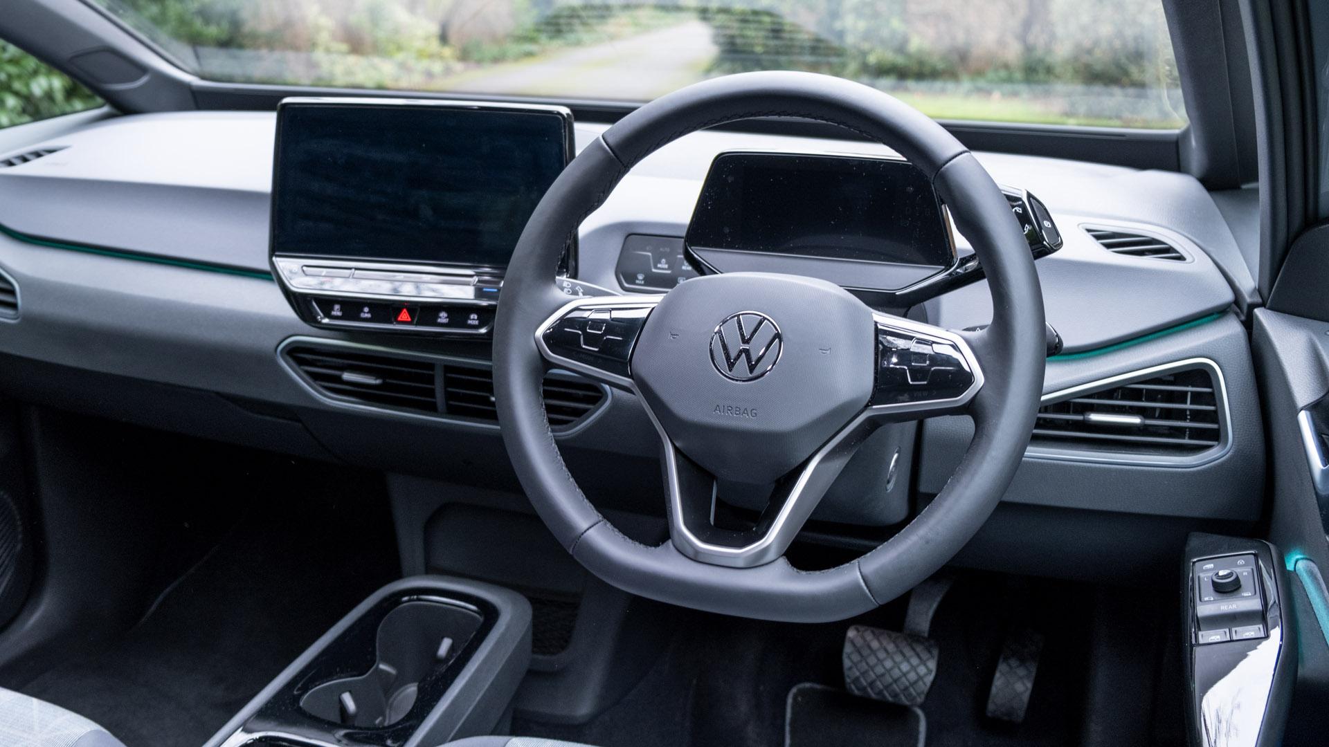 Volkswagen ID.3 front cabin