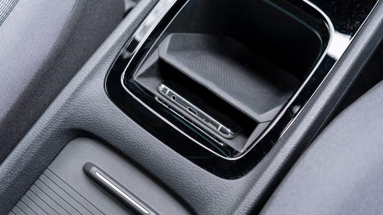 Volkswagen ID.3 phone charging